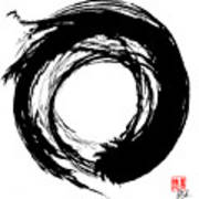 Enso / Zen Circle 15 Art Print