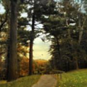 Enter Autumn Art Print