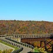 Enter The Kinzua Skywalk Art Print