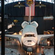 Enterprise Space Shuttle Art Print by Renee Holder