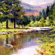 Entiat River Art Print