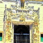 Entrance Casa Grande Art Print