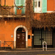 Entrance In Rome Art Print
