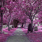 Entrance To A Cemetery Art Print