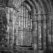 Entrance To Cong Abbey Cong Ireland Art Print