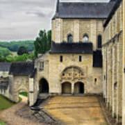 Entrance To Fontevraud Abbey Art Print