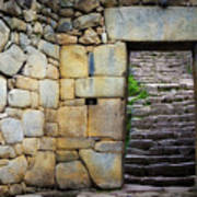 Entrance To Machupicchu Art Print