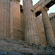 Entrance To Past Life   Acropolis Art Print