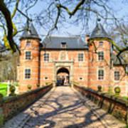 Entrance To The Castle, Belgium Art Print