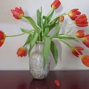 Entryway Bouquet Art Print