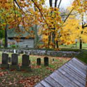 Ephrata Cloister Cemetery Art Print