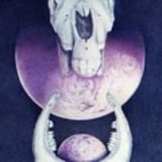 Epona Goddess Of Fertility Art Print