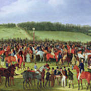 Epsom Races - The Betting Post Art Print