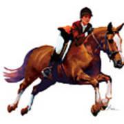 Equestrain Art Print