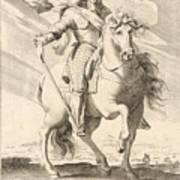 Equestrian Portrait Of Louis Xiii Of France Art Print