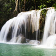 Erawan National Park Art Print