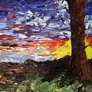 Erda Sunset Art Print