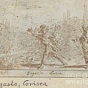 Ergasto And Corisca Art Print