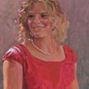 Erin Hiatt - Junior Miss 2009 Art Print