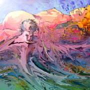 Eroscape 10 Art Print
