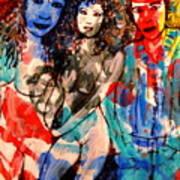 Erotic Nude 2 Art Print