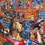 Escape From Coney Island Art Print