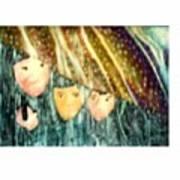 Escape From The Rain Art Print