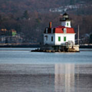 Esopus Lighthouse In December Art Print