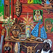 Espiritualidad Africana Art Print