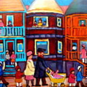 Esplanade Street Sabbath Walk Art Print