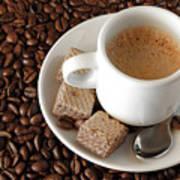 Espresso Coffee Art Print