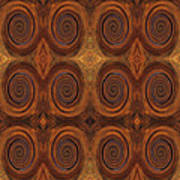 Essence Of Rust - Tiled Art Print