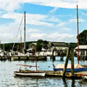 Essex Ct Marina Art Print