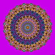 Estate Jewels Mandala No. 2 Art Print
