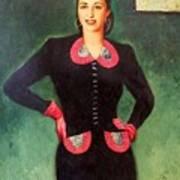 Estela Mora De Albarran Art Print