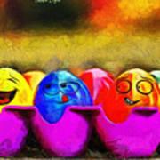 Ester Eggs - Pa Art Print
