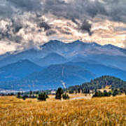 Estes Park From Glen Haven 3 Art Print