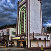 Estes Park Theater Art Print