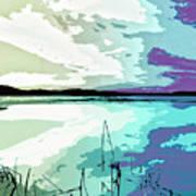Estuary Art Print