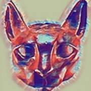 Eternal Cats Art Print