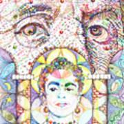 Eternidad- Sombra De Arreguin Art Print