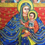 Ethiopian Angels Art Print