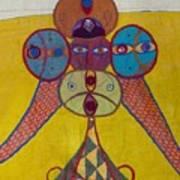 Ethiopian Ornament  Art Print