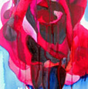Etoile De Holland Rose Art Print
