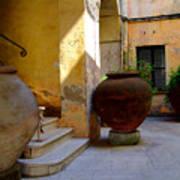Etruscan Tarquinia Italy North Of  Rome Art Print