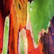 Eucalyptus Tree Bark Two Art Print