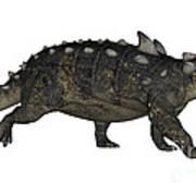 Euoplocephalus Dinosaur Art Print