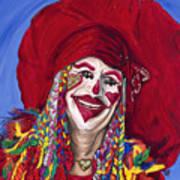 Eureka Springs Clown Print by Patty Vicknair