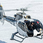 Eurocopter Ec130 With Fantastic Livery Art Print