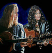Eva Cassidy And Katie Melua Art Print